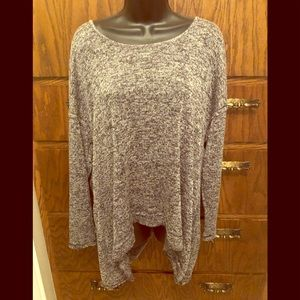 Long sleeve,  very comfortable blouse.